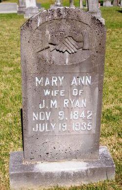 "Mary Ann ""Polly"" <I>Wilemon</I> Ryan"