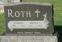 Marion Louisa <I>Zimmerman</I> Roth
