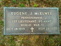 Lieut Eugene J McElwee