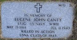 LTJG Eugene John Canty