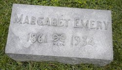 Margaret Lena <I>McFarlan</I> Emery