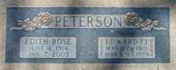 Edith <I>Rose</I> Peterson