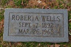 "Roberta ""Birdie"" <I>Wells</I> Wells"