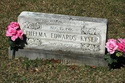 Thelma <I>Edwards</I> Kyser