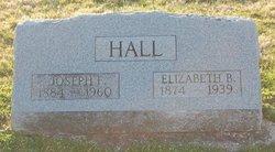 Elizabeth B Hall