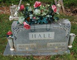Walter B Hall