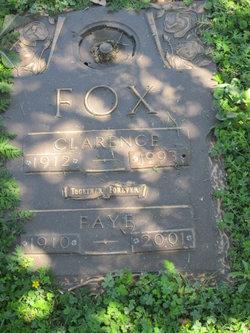 "Clarence Aubrey ""Dugan"" Fox"