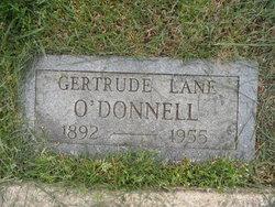 Gertrude Marie <I>Lane</I> O'Donnell