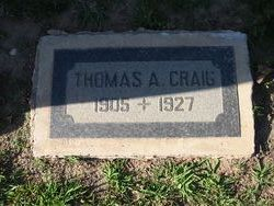 Thomas Albert Craig