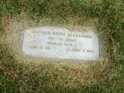 Donald Ridge Alexander