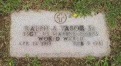 Ralph Alan Tabor, Sr