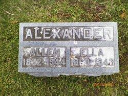 """Sarah Louella """"Ella"""" <I>Walden</I> Alexander"""