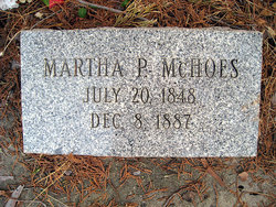 Martha P <I>Pile</I> McHoes