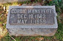 """Cordelia """"Cordie"""" <I>Shryer</I> Manstedt"""