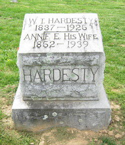 Annie Elizabeth <I>Bishop</I> Hardesty