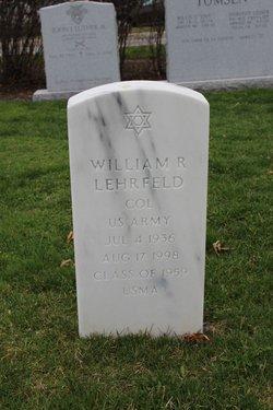 "Col William Richard ""Bill"" Lehrfeld"