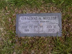 Geraldine A. <I>Bottomley</I> Mueller