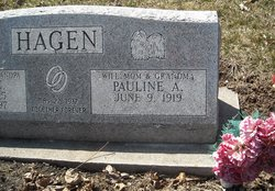 "Agnes Pauline ""Pauline"" <I>Norrick</I> Hagen"