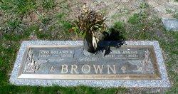 Myrtle Estelle <I>Atkins</I> Brown