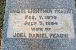 Mabel <I>Lightner</I> Feagin