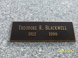 """Theodore Roosevelt """"Ted"""" Blackwell"""