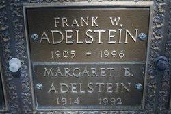 Frank W Adelstein