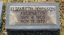 Elizabeth <I>Johnson</I> Abernathy