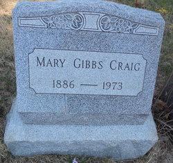 Mary <I>Gibbs</I> Craig