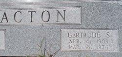 Gertrude Phillips <I>Shoemaker</I> Acton