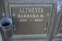 Barbara Marie Altmeyer