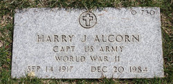 Capt Harry J Alcorn