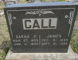 Sarah Frances <I>Bullington</I> Call