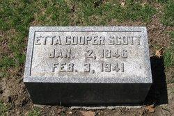 Etta C. <I>Cooper</I> Scott