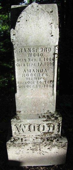 Amanda <I>Roberts</I> Wood