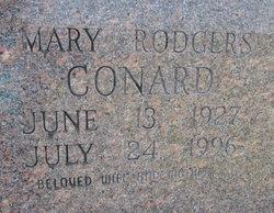 Mary E. <I>Rodgers</I> Conard