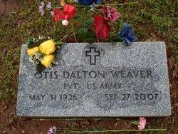 Pvt Otis Dalton Weaver