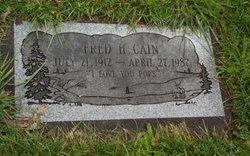 Fred Howard Cain