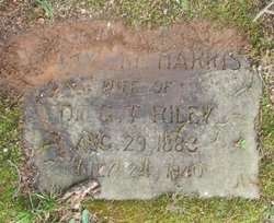Mary M. <I>Harris</I> Riley