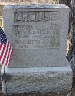 Elizabeth J <I>Goshorn</I> Crouse