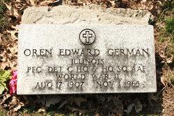 Oren Edward German