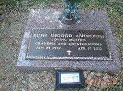 Ruth Ellen <I>Purser</I> Ashworth