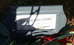 Mildred <I>Weis</I> Porter