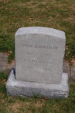 Annie <I>Corson</I> Barnshaw