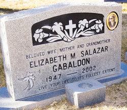 Elizabeth M <I>Salazar</I> Gabaldon