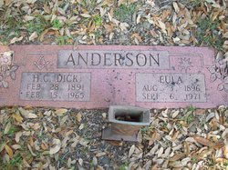 Eula W. <I>Weatherford</I> Anderson