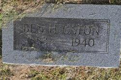 """Benjamin Higginson """"Ben"""" Caton"""