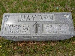 Francis Xavier Hayden, Jr
