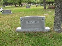 Bertha Aline <I>Garner</I> Benton