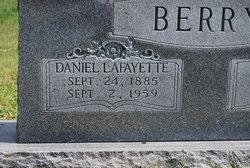 Daniel Lafayette Berry