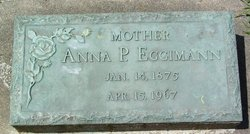 "Anna Pauline ""Annie"" <I>Mueller</I> Eggimann"